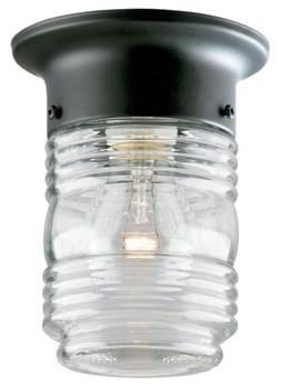 WESTINGHOUSE 1 Light Jelly Jar Porch Light