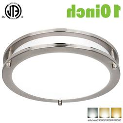 "Hykolity 10"" LED Ceiling Light Flush Mount Color Selectable"