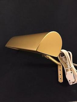 """14"""" Gold Traditional Incandescent Picture Light .Wall Lamp-W"""
