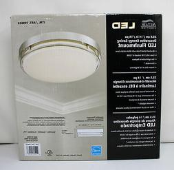 "Altair Lighting 14"" LED Flushmount Dimmable Light Fixture Br"