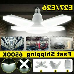 150W 30000LM Deformable LED Garage Light Bright Shop Ceiling