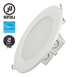 15W 5-Inch Dimmable Retrofit LED Recessed Lighting Fixture,
