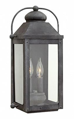 Hinkley 1854DZ-LL Anchorage Outdoor Wall Sconce, 2-Light LED