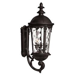 "Hinkley Lighting 1894BK Black 25.5"" Height 3 Light Lantern O"
