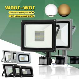 20W-100W LED Flood Light Cool Warm White Outdoor Spotlight G