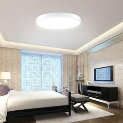 """18W LED Ceiling Light 15.7"""" Round Flush Mount Fixture Dimmab"""