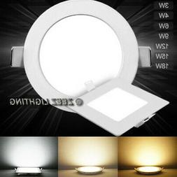 3/4W 6W 9W 12W 15W 18W 20W 25W Dimmable LED Recessed Ceiling