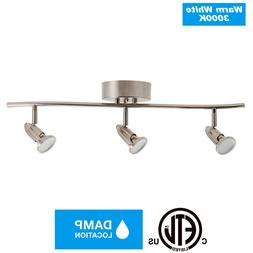 3 Light Track Lighting Ceiling Wall Interior Lamp Fixture,3