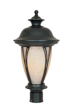 Designers Fountain 30536-AM-BZ Westchester Post Lanterns, Br