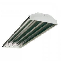 4-lamp T5 HO High Bay Fluorescent Lighting Fixture High Outp