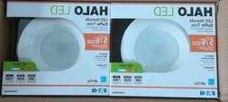 4 PACK Halo LT 5 in.& 6 in. White Integrated LED Recessed Ce