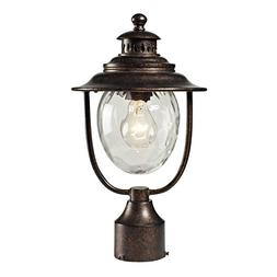 Elk 45032/1 Searsport 1-Light Outdoor Post Mount with Water