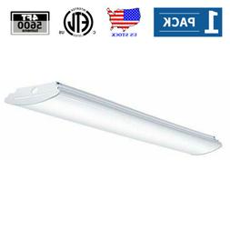 AntLux 4FT LED Kitchen Light Fixture 50W LED Utility Ceiling