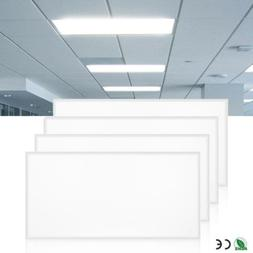 4PACK Bright 72W 2x4 LED Panel Light Ceiling Fixture Office
