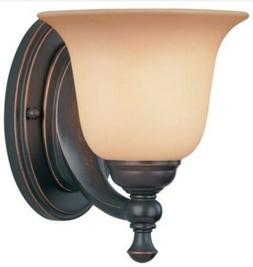 Hardware House 54-3793 Orbitz Wall Sconce, Oil Rubbed Bronze