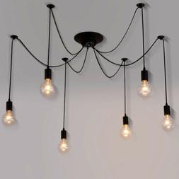 Baycheer 6 Lights Flush mount Chandelier Ceiling Light Penda