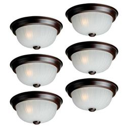 6-Pack Flush Mount Ceiling Lighting Fixture Project Source 1
