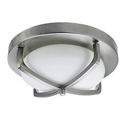 HomeSelects 6164 Industrial Chic Flush Mount Ceiling Light,