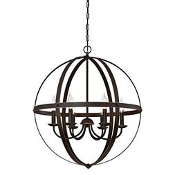 Westinghouse 6328200 Stella Mira Six-Light Indoor Chandelier