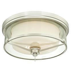 Westinghouse 6331200 Glenford Two-Light Indoor Flush-Mount C