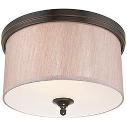 Westinghouse 6341600 Packard Two-Light Indoor Flush Ceiling