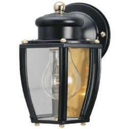 Westinghouse 6696100 One-Light Exterior Wall Lantern, Matte