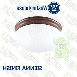 Westinghouse 67202 Two-Light Indoor Flush-Mount Ceiling Fixt