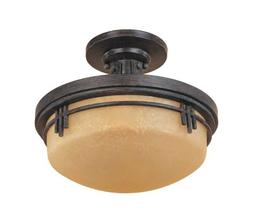 Designers Fountain 82111 Mission Ridge Semi Flush Mount