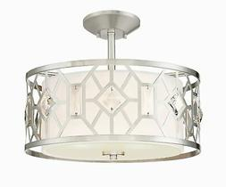 "Designers Fountain 90111 Brentwood 2 Light 16"" Wide Semi-flu"