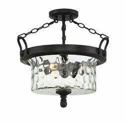 "Designers Fountain 92311 Amilla 3 Light 18"" Wide Semi-Flush"
