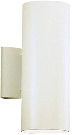 Kichler 9244WH Outdoor Wall 2Lt in White.