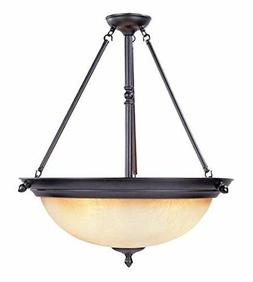 Designers Fountain 94031-ORB Apollo Inverted Pendant Chandel