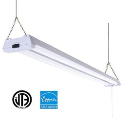 Sunco Lighting 1 Pack 4ft 48 Inch LED Utility Shop Light 40W
