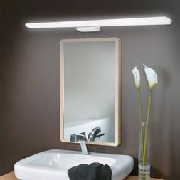 Acrylic Modern Bathroom Vanity LED Light Front Mirror Toilet
