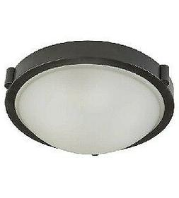 "Artcraft Lighting Boise Flush Mount, 13"", Oil Rubbed Bronze"