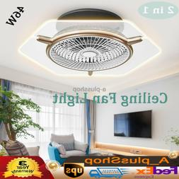 Ceiling Fan With Light Remote Control Chandeliers Fixtures L