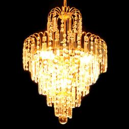 Chandelier Ceiling Pendant Light Modern Elegant Crystal Lamp