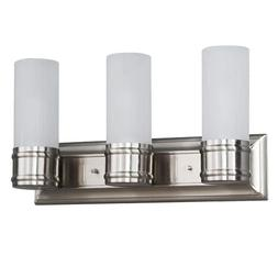 Hampton Bay Charenton 3 Light Vanity Bathroom Fixture Lighti