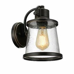 Globe Electric Charlie 1-Light Oil Rubbed Bronze LED Outdoor
