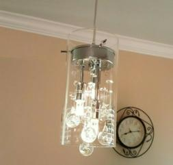 Axiland Claxy Glass Pendant Hanging Fixture BS605-1DU New In