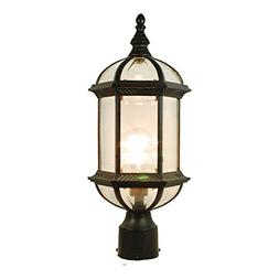 eTopLighting Contemporary Collection Exterior Outdoor Post L