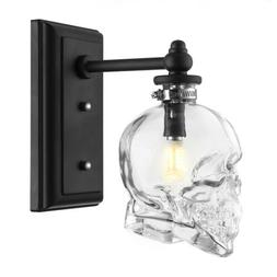 Contemporary Wall Lighting Skull Wall Sconce Lamp Fixture wi