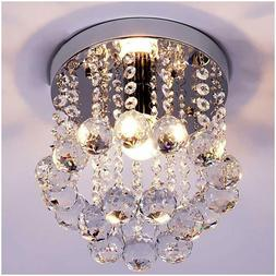 Crystal Chandeliers Ceiling Lamp Light Modern Décor Flush M