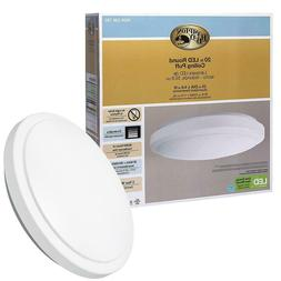 Hampton Bay Dimmable 20 in. Round White LED Flush Mount Ceil