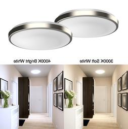 2-PACK Dimmable LED Flush Mount Ceiling Light Fixture Modern