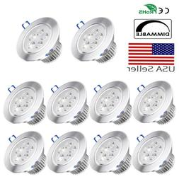Dimmable LED Recessed Ceiling Light Downlight Lighting Fixtu