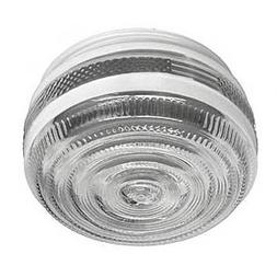 6-Inch Drum Shade Replacement Glass Shade - 5-7/8-Inch Fitte
