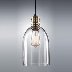 CLAXY Ecopower Minimal 1 Light Pendant Shade Vintage with Cl