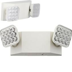 Lithonia Lighting EU2 LED  2-Light White LED Emergency Fixtu