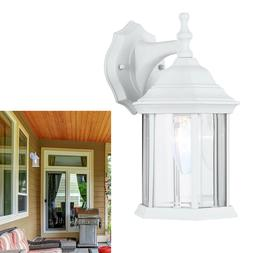 Exterior Outdoor Light Fixture Wall Lantern Sconce 1 or 2 Pa